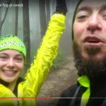 Alergare prin pădure pe frig și ceață – clip youtube